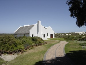 Spacious manor house at Draaihoek Lodge, West Coast South Africa
