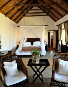 Luxurious en suite interiors at Draaihoek Lodge, West Coast South Africa