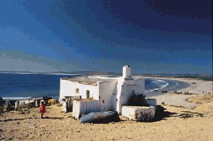 Picture of Paternoster, a trendy little historical fishing West Coast village in South Africa