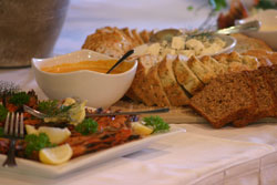 Picture of one of the delicious meals prepared at the Draaihoek Lodge Restaurant.
