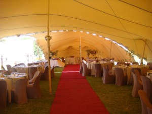 Wedding reception at Draaihoek Lodge & Restaurant on West Coast South Africa