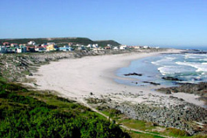 Picture of Yzerfontein seaside village on West Coast of South Africa