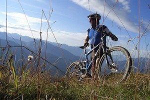 Thrilling Mountain bike Trail on the West Coast