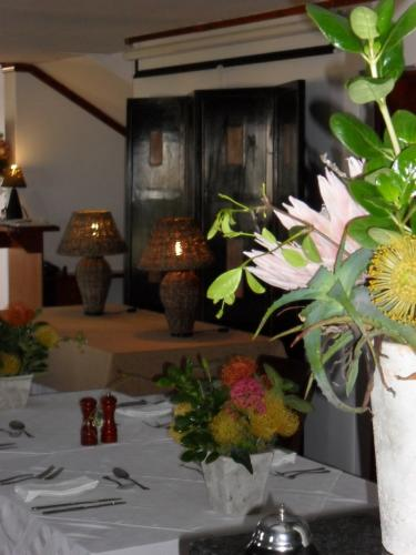 Savour stylish surroundings while dining at the Draaihoek Restaurant.